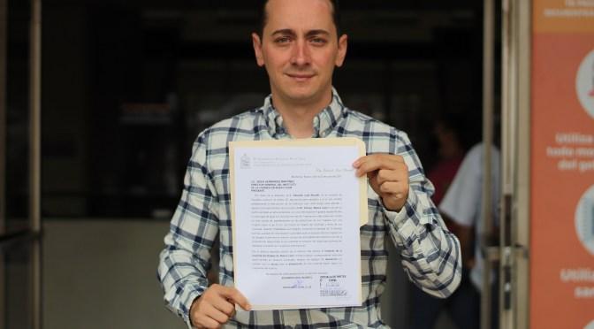 SOLICITA EDUARDO LEAL APOYO PARA FAMILIAS AFECTADAS POR SISMO EN DOCTOR ARROYO