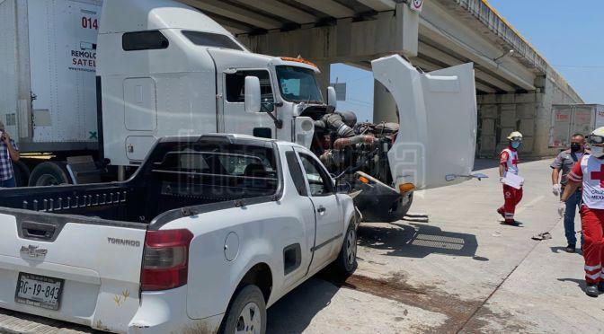 FUERTE ACCIDENTE VIAL DEJA UNA PERSONA SIN VIDA EN LOS SABINOS.
