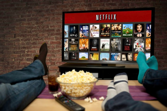 People are increasingly watching movies and shows through subscribing services like Netflix and Hulu Plus.