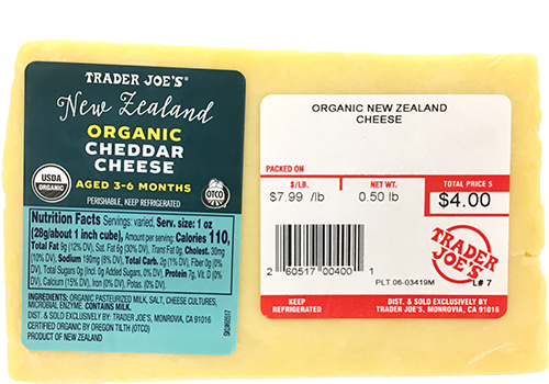 Here is a list of healthy things you can buy at Trader Joe's!