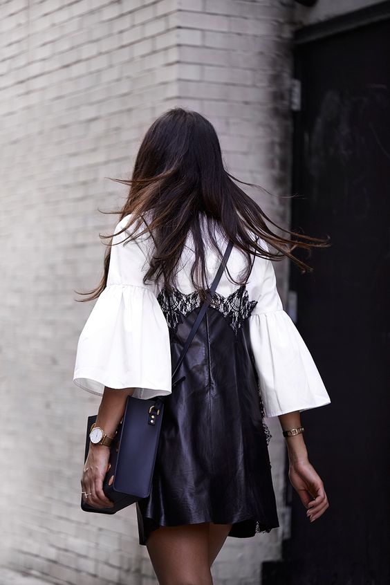 Check out these outfits with dramatic sleeves.