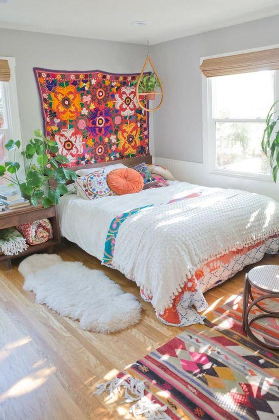 15 Bohemian Bedroom Ideas On A Budget on Bohemian Bedroom Ideas On A Budget  id=72337