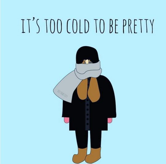 Comments You Constantly Get When You're Always Cold
