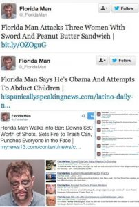 You Know You Are From Florida If...