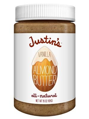 Although this takes a little bit to put together, apples and almond butter are a great healthy snack that has the good kind of fat and protein. Almond butter is also great alternative to peanut butter because it packs more minerals, vitamins, and fiber. Justin's Almond butter is great, with only two ingredients, and comes in a many flavors.