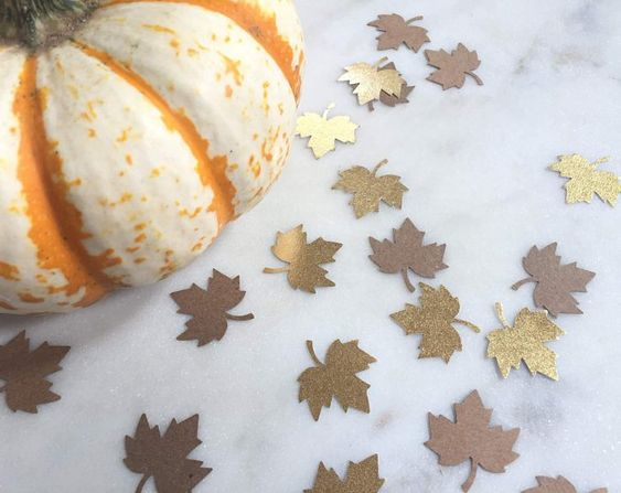10 Metallic Fall Decorations That'll Make Your Home Look Chic AF