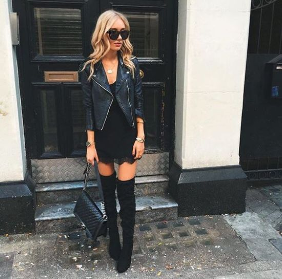 8 Different Ways To Wear Knee-High Boots