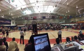 Ole Mis vs Miss St Volleyball Game