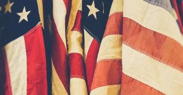 Business internship USA flag
