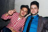 Karim Orujov (on the right)