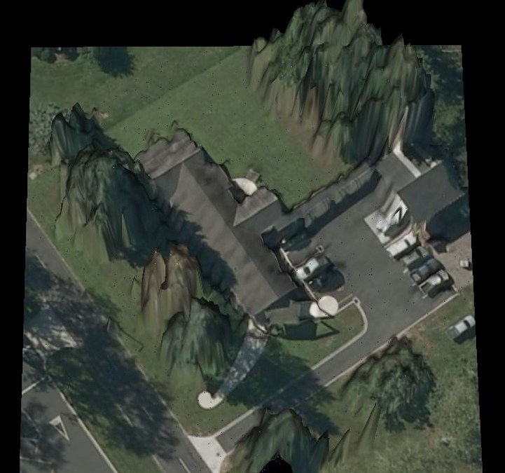 LiDAR – A Different View of the Interpine Office