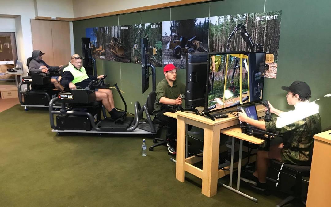 Simulator Training for Machine Operation