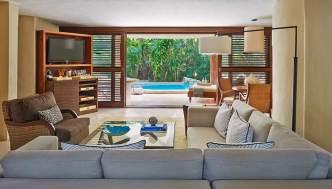 Viceroy Riviera Maya - Ocean-View-Two-Level-Villa-Seating-Area