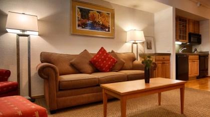 LIving room Studio Loft or Deluxe Studio