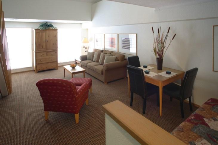 Loft Suite downstairs