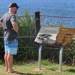 Smoky Cape Range aboriginal interpretive sign
