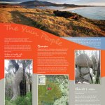 Gulaga Mountain aboriginal interpretive sign