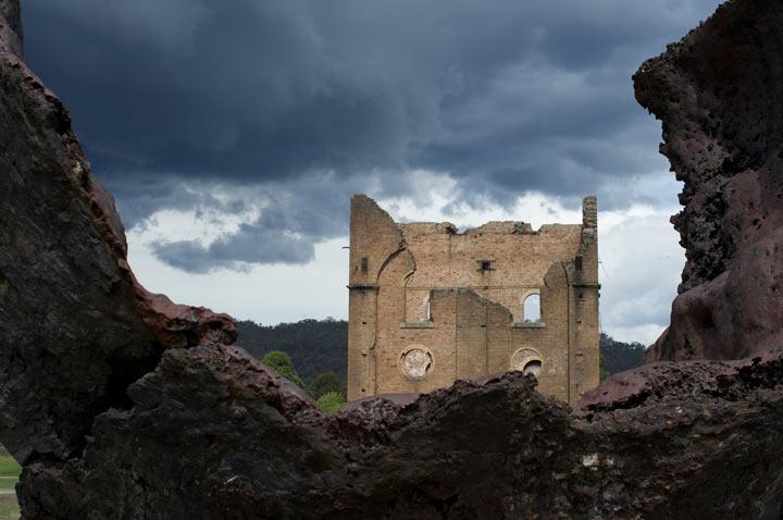 Derelict Lithgow Blast Furnace