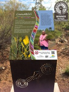 Ngurin bush tucker interpretive signage