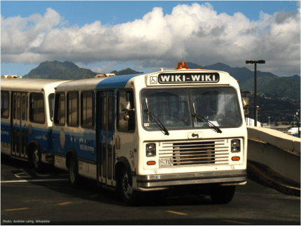 Get on the Wiki-Wiki Bus, Part II