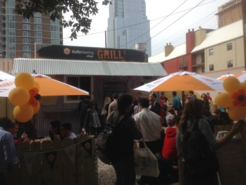 The GoToMeeting grill at SXSW