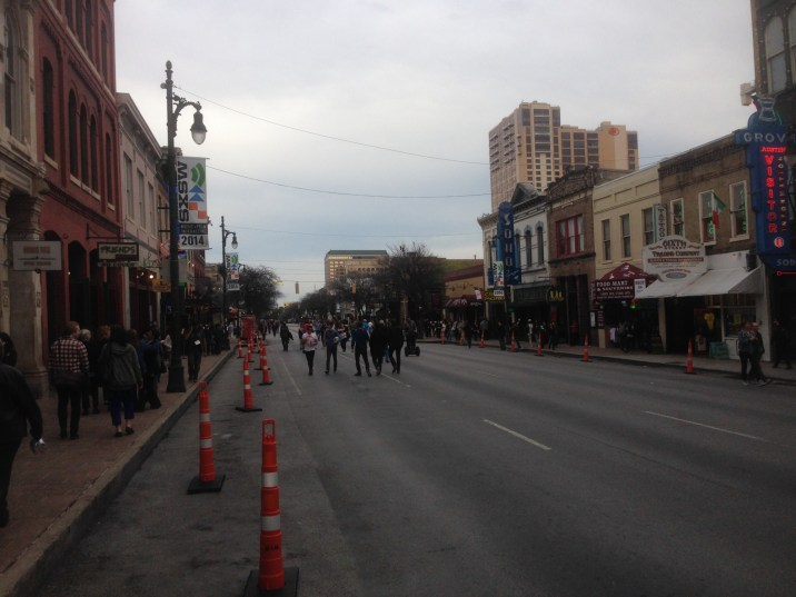 Austin's 6th St. - before the big parties