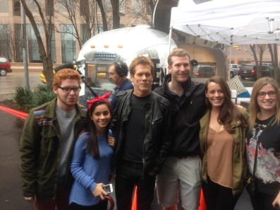 Photo opp with Kevin Bacon