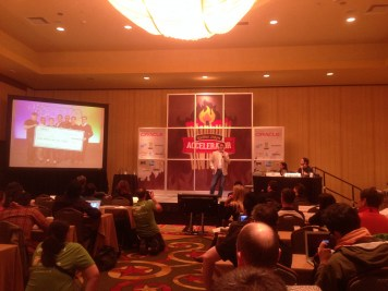 Plum presentation at the SXSW Accelerator
