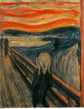 The Scream courtesy of WebMuseum