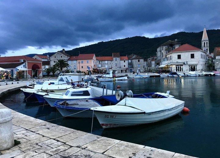Marina at Stari Grad, Hvar