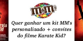 promoção karate kid mm