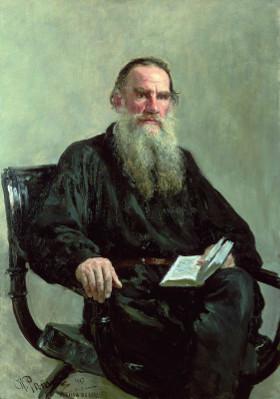Retrato de Tolstói por Ilya Efimovich Repin (1844-1930).