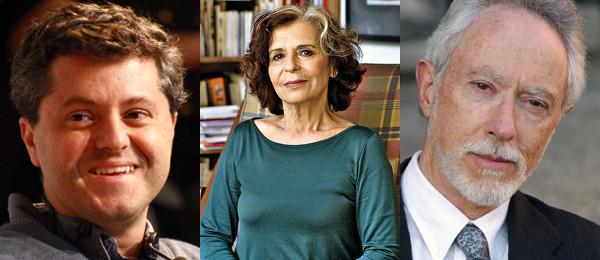 Ricardo Lísias, Alice Ruiz e J.M. Coetzee