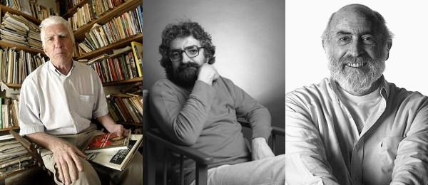 Valêncio Xavier, Manoel Carlos Karam e Jamil Snege