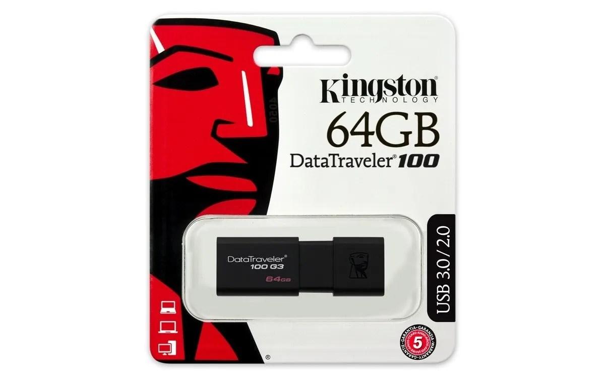 Memoria Kingston USB 64 GB