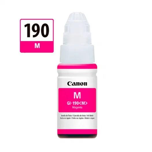 Tinta Canon 190 Magenta