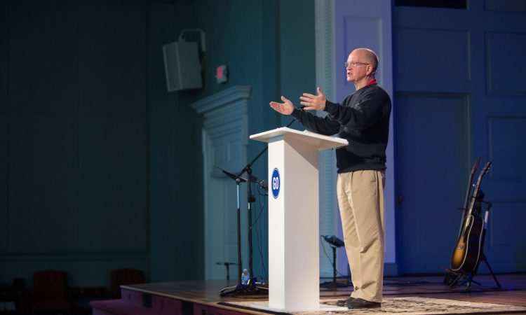 Danny Akin: We walk under the banner of the cross