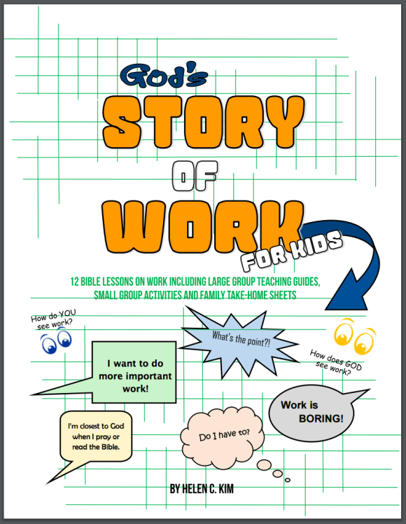 God's Story of Work for Kids