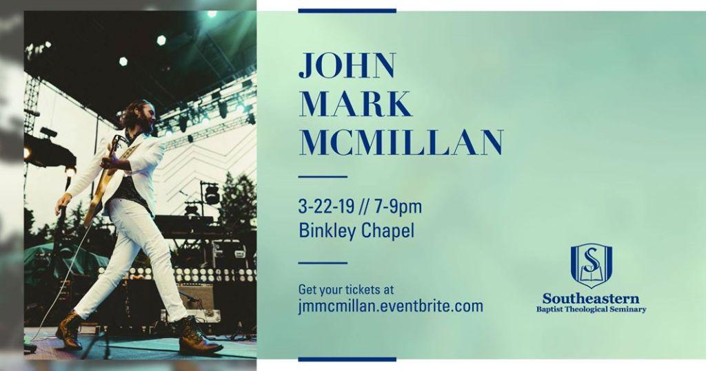 John Mark McMillan concert at SEBTS