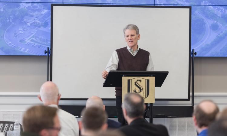 Bryan Chapell at Southeastern Seminary