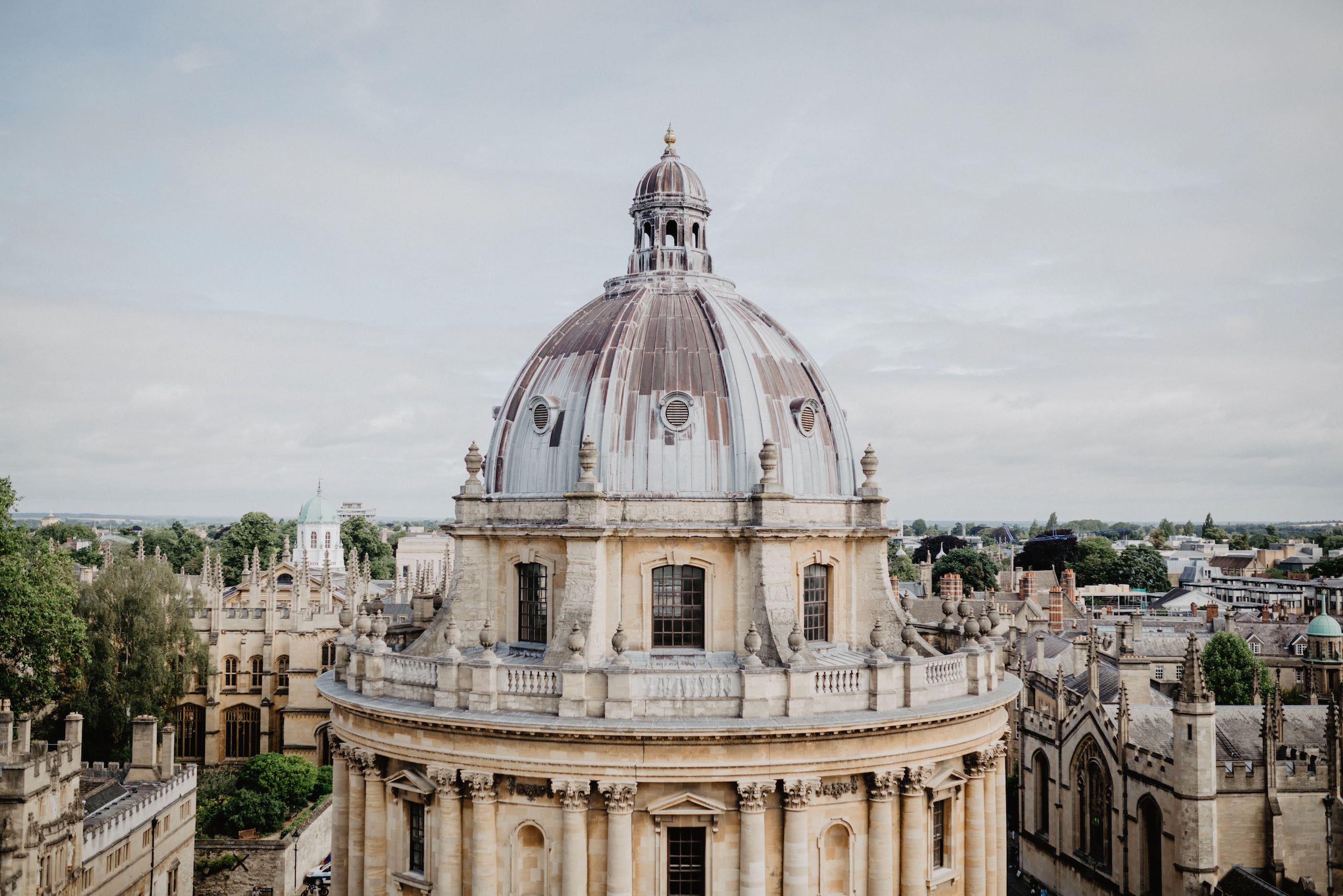The Radcliffe Camera of the Bodleian Library (credit: Rebecca Hankins)