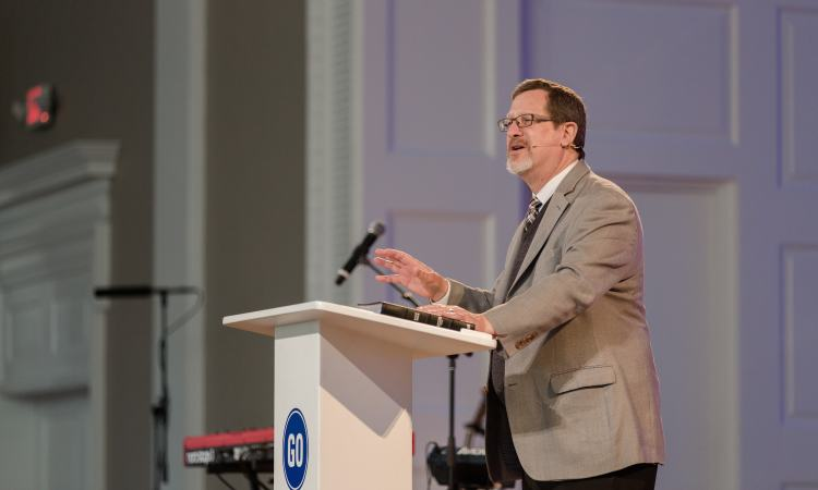 Lee Strobel - chapel at SEBTS