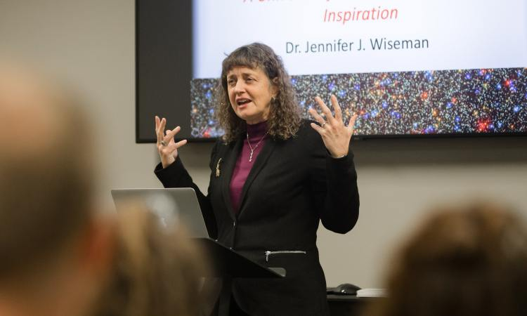 A Universe of Awe, Challenge, and Inspiration: A Recap of Dr. Jennifer Wiseman's Lecture