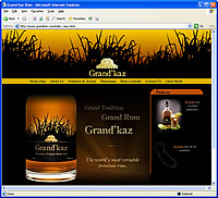 Grand'kaz Rum Flash Sample