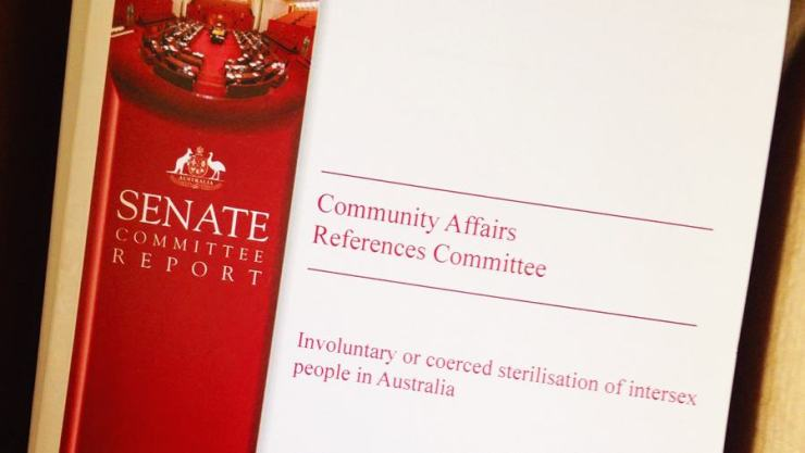 Report of the Australian Senate Community Affairs References Committee
