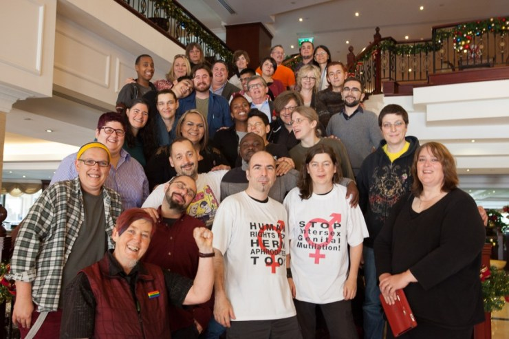Participants at the Third International Intersex Forum