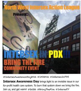 Intersex in PDX