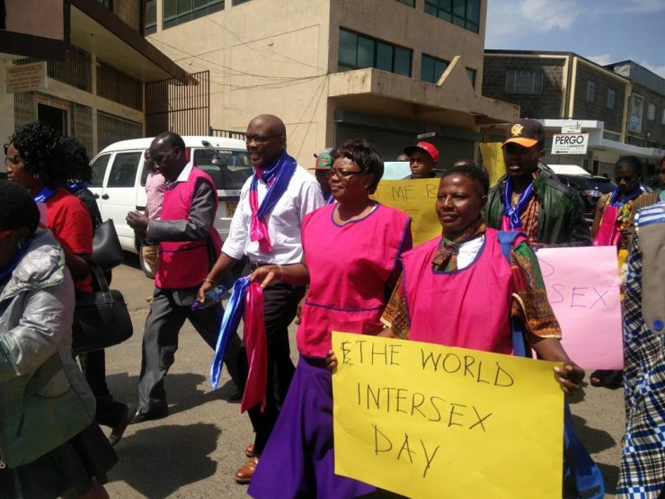 Nairobi walk for intersex people