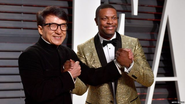 Jackie Chan and Chris Tucker co-starred in the Rush Hour films, directed by Ratner