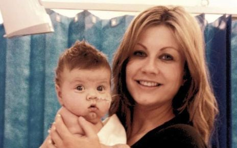 95174899 oldpicjoeandsarah - Mother and son in double organ donation plan